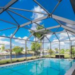 Fabri-Tech Pool enclosure