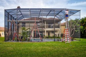 How to Prepare your Pool Screen Enclosure for Hurricane Season