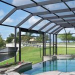 pool enclosure by Fabri Tech