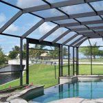 pool enclosure by Fabri Tech
