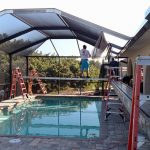 pool cage design by Fabri-Tech