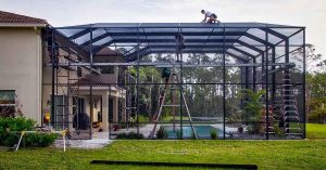 Pool Screen Enclosure Repair in Florida