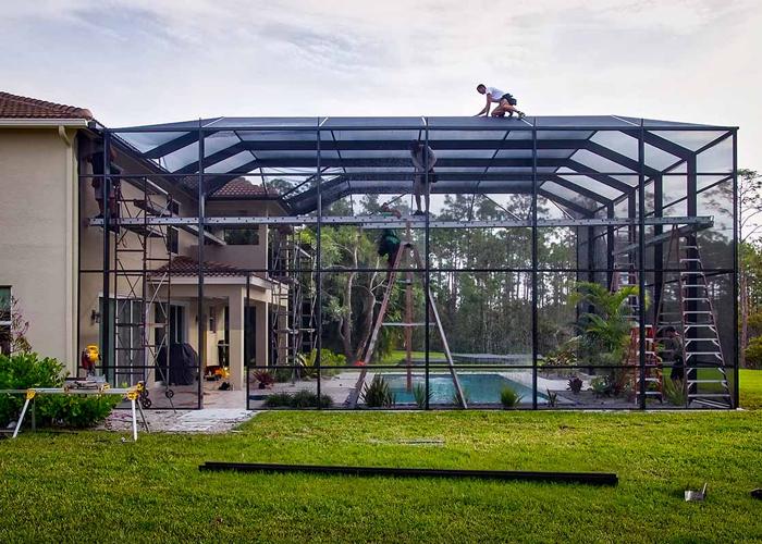 Enclosure for Hurricane Season in Florida